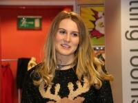 Lovely reindeer jumper!