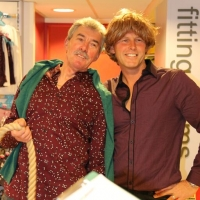 Fabulous gents! (Like the wig Richard!)