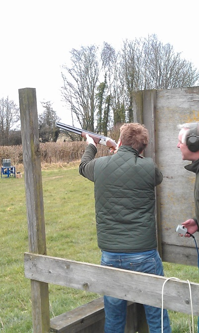 Oct - Clay Pigeon Shooting