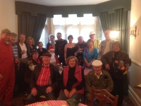 Group photo of the Big Breakfast