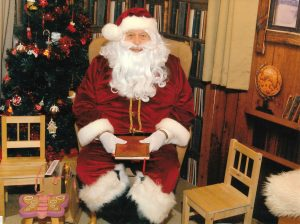 SANTA at Center Parcs Dec 2014