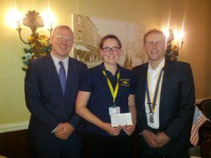 Steve Crossley and Hannah Nobbs Air Ambulance